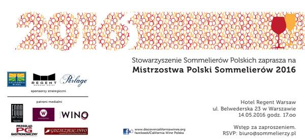 XVI Mistrzostwa Polski Sommelierów